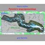 Рузское водохранилище SonarHD