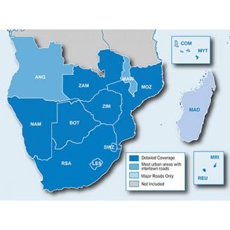 Южная Африка NT 2010.10 - карта для навигаторов GARMIN