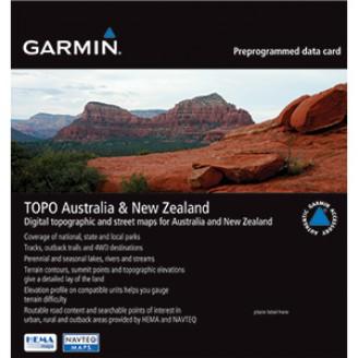 Карта для Garmin - Австралия и Новая Зеландия  v5