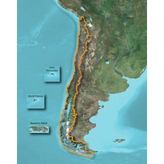 Карта для Garmin - Чили TOPO Chile Deluxe 2015.10