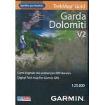 Гарда, Доломитовые Альпы. Топография. v2