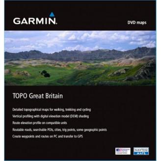 Карта для Garmin - Великобритания Топография Great Britain Topo v2