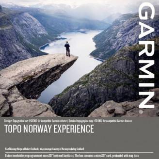 Норвегия топографическая карта для Garmin (TOPO Norway Experience PRO v.3)