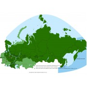 Дороги России РФ ТОПО 6.34 microSD - карта для навигаторов Garmin