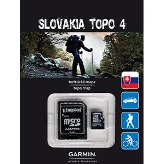 Карта для Garmin - Словакия TOPO Slovakia v4