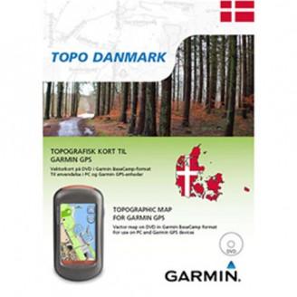 Карта для Garmin - Дания TOPO Denmark v3 PRO