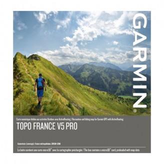 Карта для Garmin - Франция TOPO France v5 PRO 2018