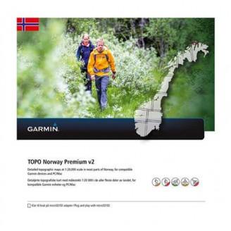 Норвегия  Восток TOPO Norway Premium v2 - 4-Sentral Ost