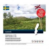 Швеция топография TOPO Sweden v5 PRO для Garmin