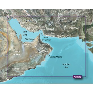 Персидский Залив BlueChart g2 Vision HD VAW450S 18.00