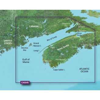 Залив Фанди, Новая Шотландия VCA004R BlueChart G2 Vision