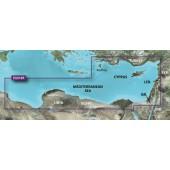 Средиземное море юго-восточное побережье 2014.5 (16.00) VEU016R BlueChart G2 Vision