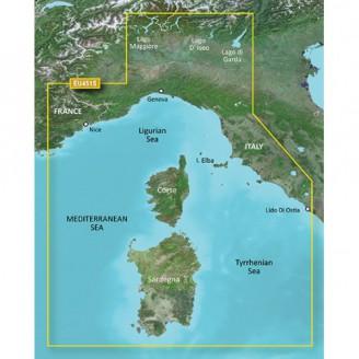 Корсика, Сардиния, Средиземное море VEU451S BlueChart G2 Vision