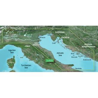 Адриатическое море, северное побережье, река По VEU452S BlueChart G2 Vision