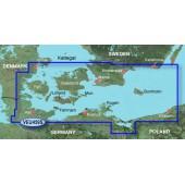 Балтийское море, Орхус, Киль, Кошалин VEU459S BlueChart G2 Vision