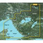 Проливы Скагеррак, Каттегат, побережье Швеции, озера Швеции VEU470S BlueChart G2 Vision