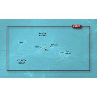 Азорские острова VEU502S BlueChart G2 Vision