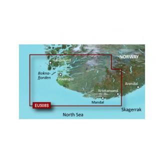 Северное море, побережье Норвегии от Кристиансанн до Хёугесунн VEU508S BlueChart G2 Vision