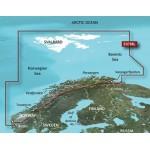 Норвегия северное побережье VEU708L BlueChart G2 Vision