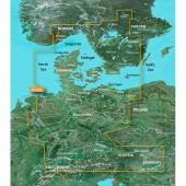 Скагеррак, Каттегат, Северное море,  Большой и Малый Бельт, Эресунн, Дания, Германия VEU710L BlueChart G2 Vision