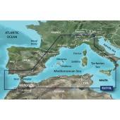 Средиземное море западная часть, Балеарские острова, Корсика, Сардиния VEU715L BlueChart G2 Vision