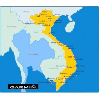 Вьетнам v3.01.1016 - карта для навигаторов GARMIN