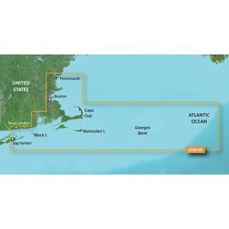 США, Кейп-Код, Атлантический океан, Отмель Джорджа VUS003R BlueChart G2 Vision