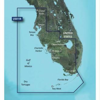 США, Флорида Юго-Запад, Мексиканский залив, Драй-Тортугас VUS011R BlueChart G2 Vision