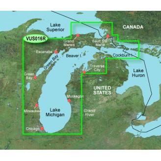 США, озеро Мичиган VUS016R BlueChart G2 Vision