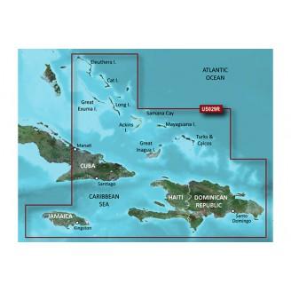Южные Багамы, Карибское море VUS029R BlueChart G2 Vision
