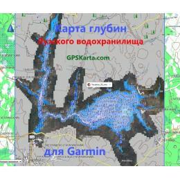 Яузское водохранилище SonarHD