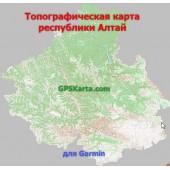 Алтай Республика Топо для Туристических GARMIN (JNX)