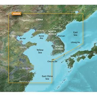 BlueChart g2 Vision - VAE002R - Yellow Sea 2014.0 (15.50)  Желтое море