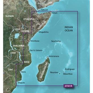 Восточная Африка, Мадагаскар, Сейшельские острова 2016.5 (v18.00) HAF001R