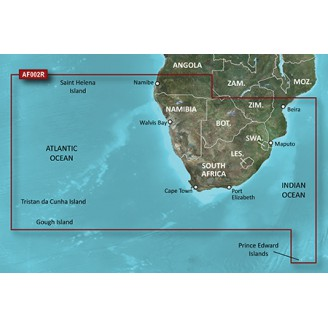 BlueChart g2 Vision - VAF002R - South Africa v2012.5 Южная Африка