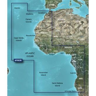Западная Африка VAF003R BlueChart G2 Vision