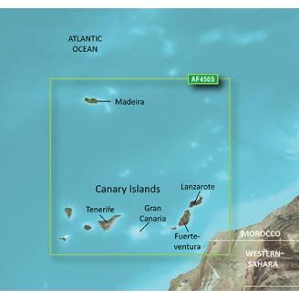 Мадейра и Канарские острова 2014.5 (16.00) VAF450S BlueChart G2 Vision