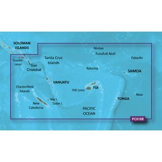 Новая Каледония Фиджи 2014.5 (16.00) VPC018R BlueChart G2 Vision
