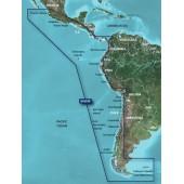 Западное побережье Южной Америки 2011.5 ( 13.00) VSA002R BlueChart G2 Vision