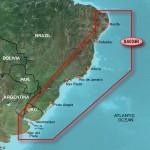 Восточное побережье Южной Америки из Натала в Буэнос-Айрес VSA004R BlueChart G2 Vision