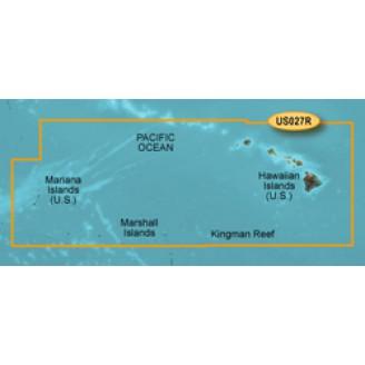 BlueChart g2 HUS027R - Гавайские острова - Марианские острова 2014.5 (v16.00)