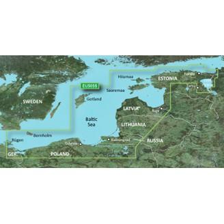 Балтийского море Восточное побережье 2015.0 (16.50)  VEU505S BlueChart G2 Vision