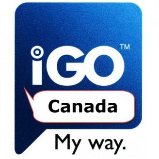 Карта для IGO Канада 2017 Q1