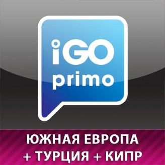 Карты для IGO Южная Европа + Кипр + Турция 2018 Q3