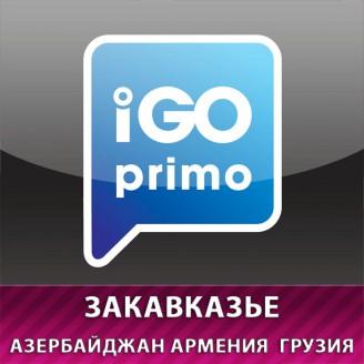 Карты для IGO Азербайджан, Армения, Грузия (+Абхазия) 2018 Q4