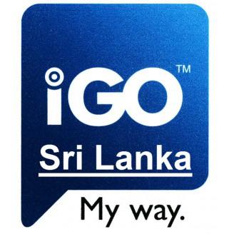Карта для IGO Шри-Ланка 2018 Q1