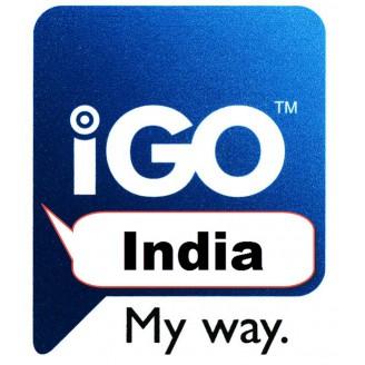 GPS карта IGO-Индия 2018 Q1