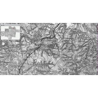 Карта Калужской губернии для OziExplorer
