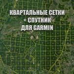 Бородинское лесничество квартальная сетка Garmin