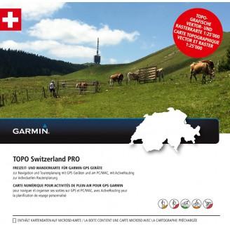 Карта для Garmin Швейцария TOPO Switzerland PRO v4